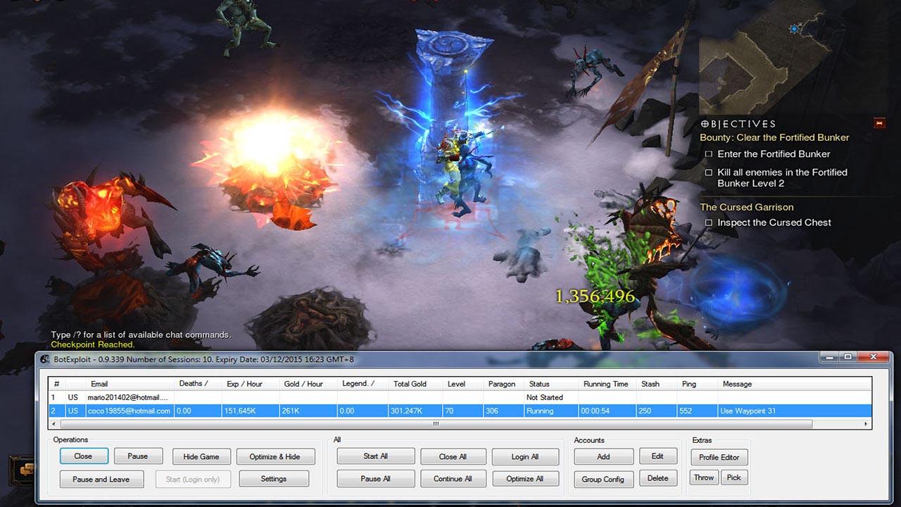 BotExploit - Best Diablo 3 ROS Bot | Diablo 3 Bot Supports